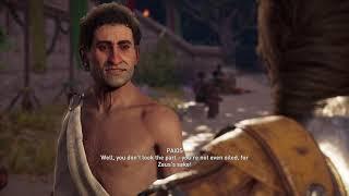 Assassin's Creed Odyssey - Pankration: Talk To Paios: Kassandra