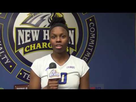 New Haven Women's Volleyball Highlights Vs. Southern Connecticut (NCAA East Regional)