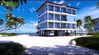 beach exterior animation visualization interior architectural walkthrough 3d firm walk through arch student