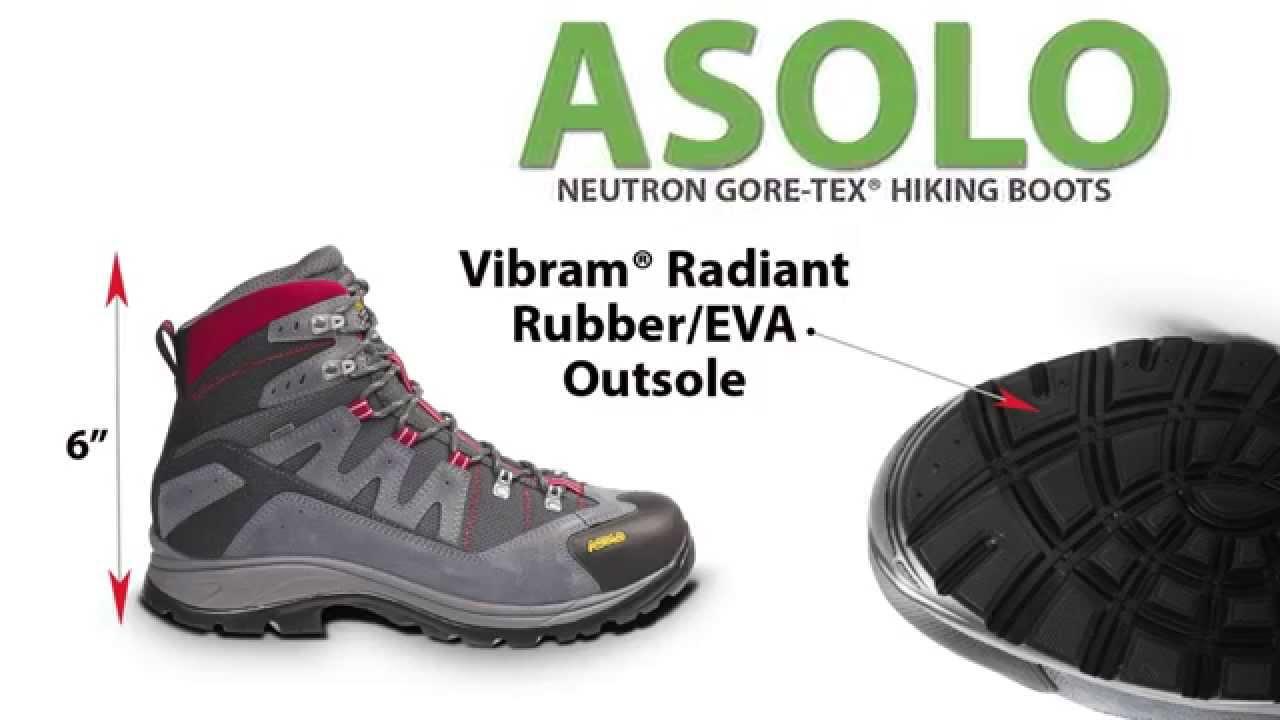 Asolo Neutron Gore Tex 174 Hiking Boots Waterproof For Men