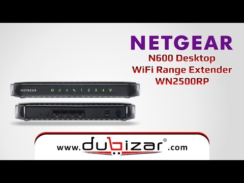 NETGEAR WN2500RP WiFi Range Extender Dubizar com - Online Store Dubai, U A E