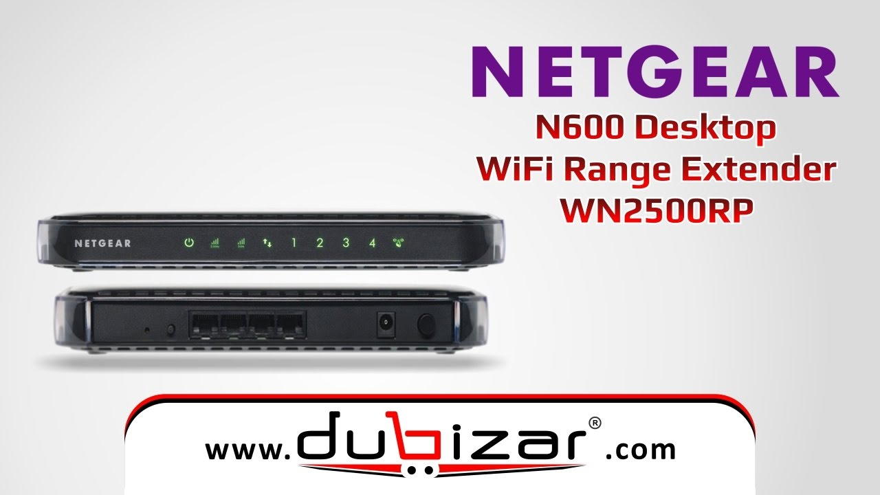 Netgear Wifi Extender Wn2500rp Computers/tablets & Networking Boosters, Extenders & Antennas