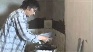 видео как класть гипсокартон