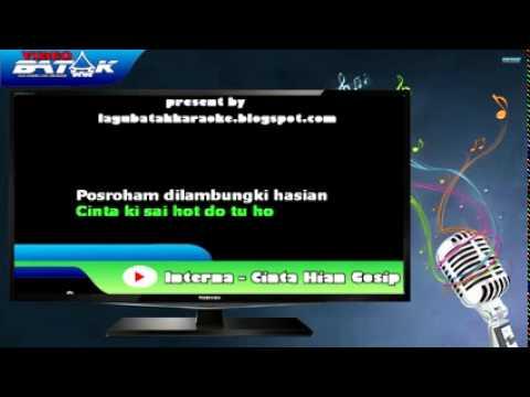 Karaoke Lagu Batak   Cinta Hian   Elexis Trio   YouTube