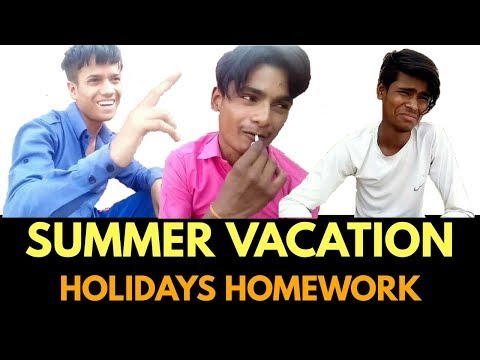 Summer vacation holiday homework _ school holidays in delhi | LPK STONE