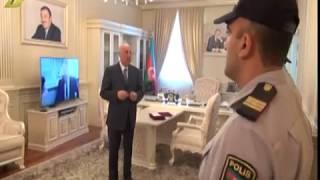 10 08 2017 Sumqayit icra bascisi polisleri qebul etdi