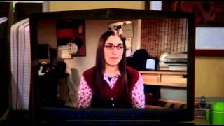 S07E04 TBBT - Sheldon has a unscheduled video chat with Amy!!!