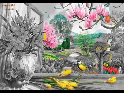 Весна (очень красивая анимация)