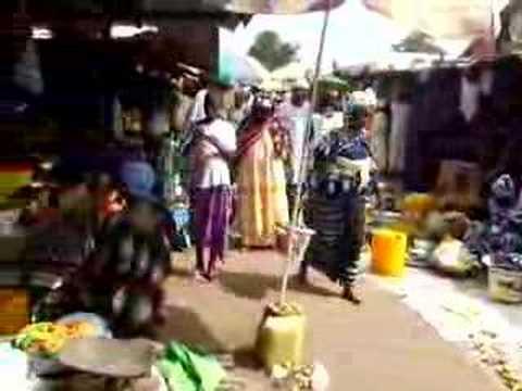 Market in Banjul, Gambia
