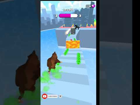 Kaiju Run Gameplay - All Levels Android And IOS Gameplays Level-1