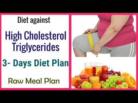 3 DAY DETOX DIET PLAN Lowers Bad Cholesterol and Triglycerides Levels Naturally Fast/RAW MEAL PLAN