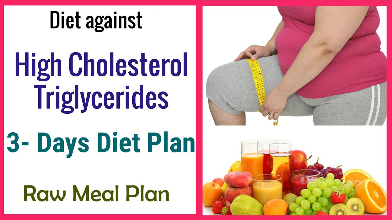 Diet with high cholesterol
