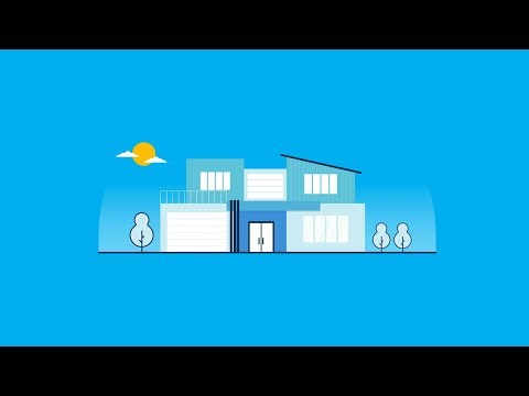 Simple Flat Modern House Illustration Adobe Illustrator Tutorial thumbnail