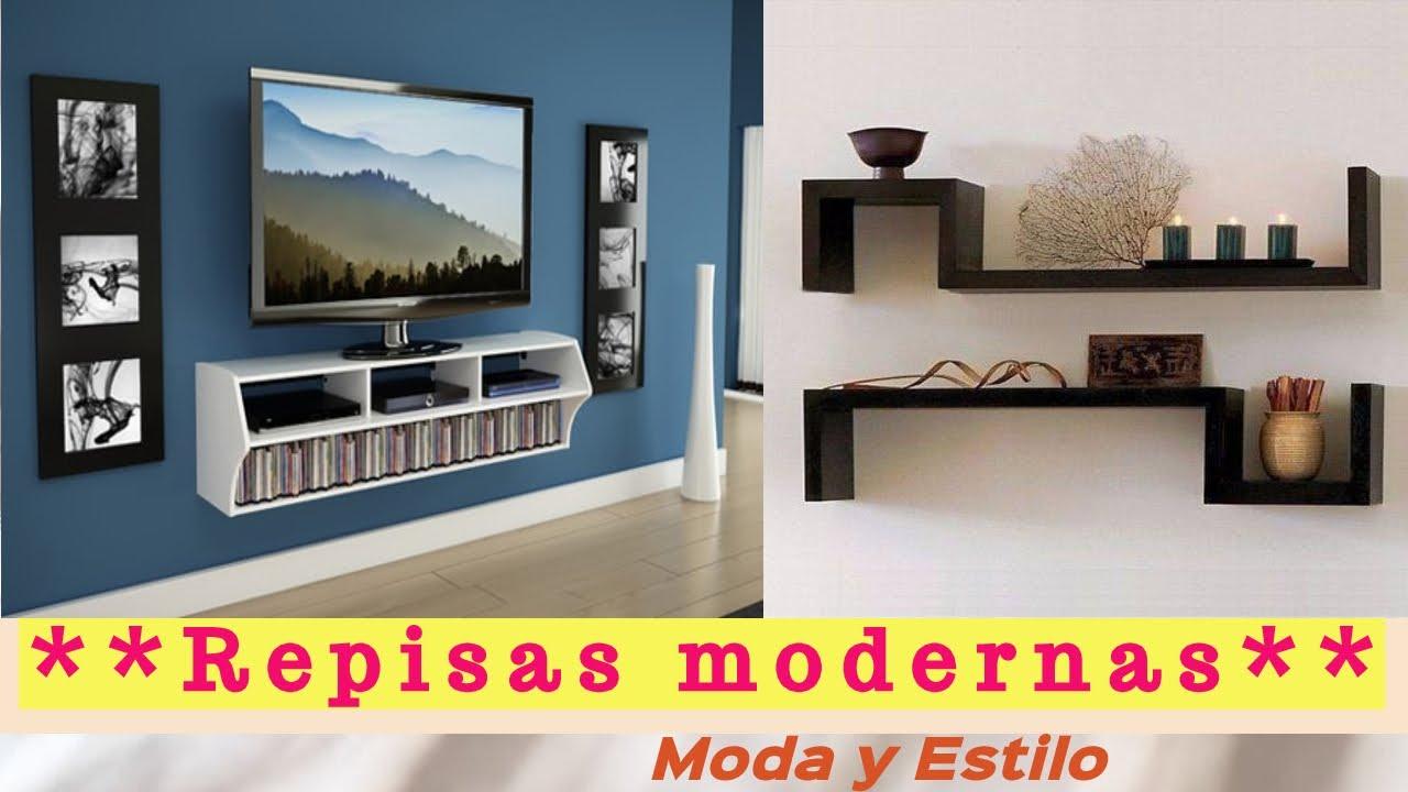 Repisas modernas decoradas   - YouTube a56679840269