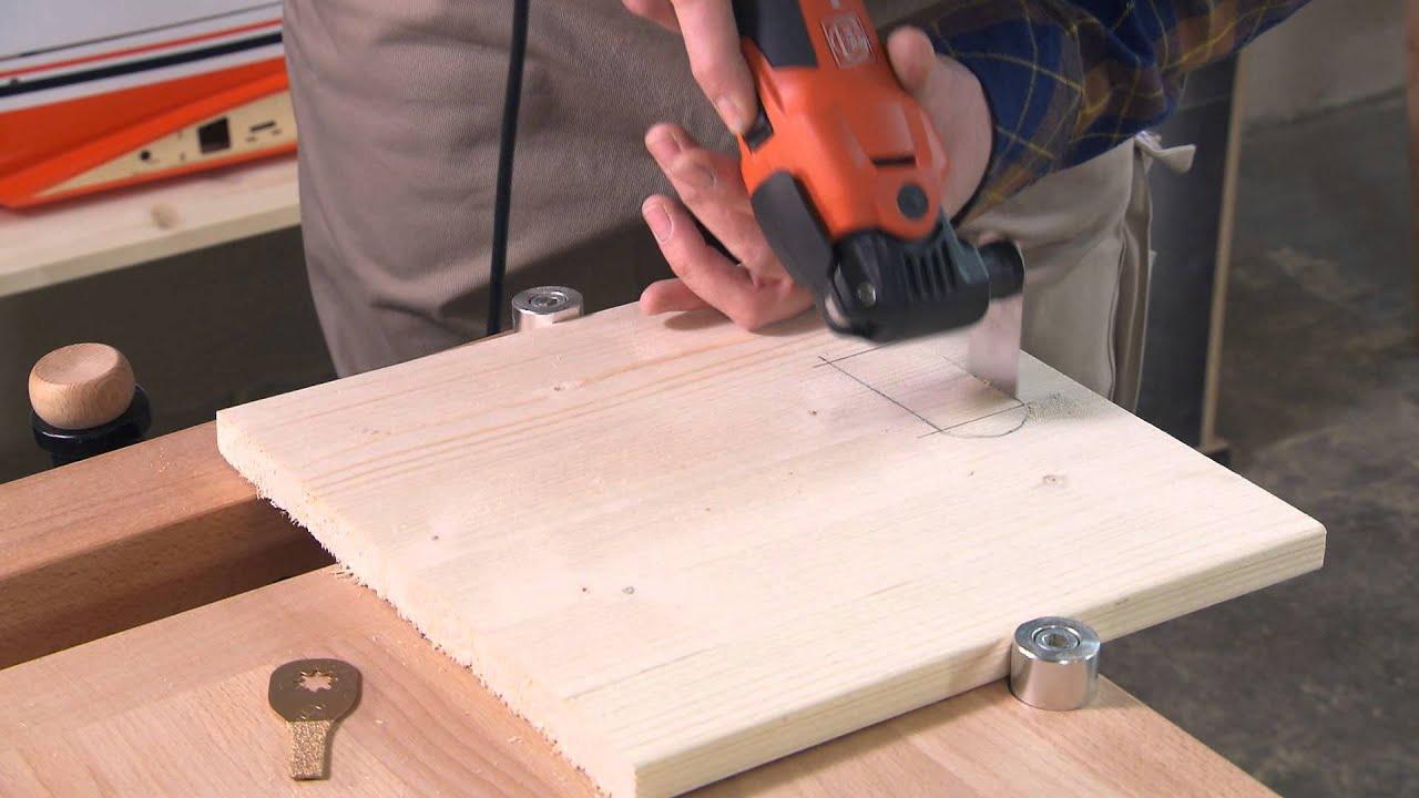 FEIN MultiMaster Oscillating Tool & Precise M-Cut Saw Blades