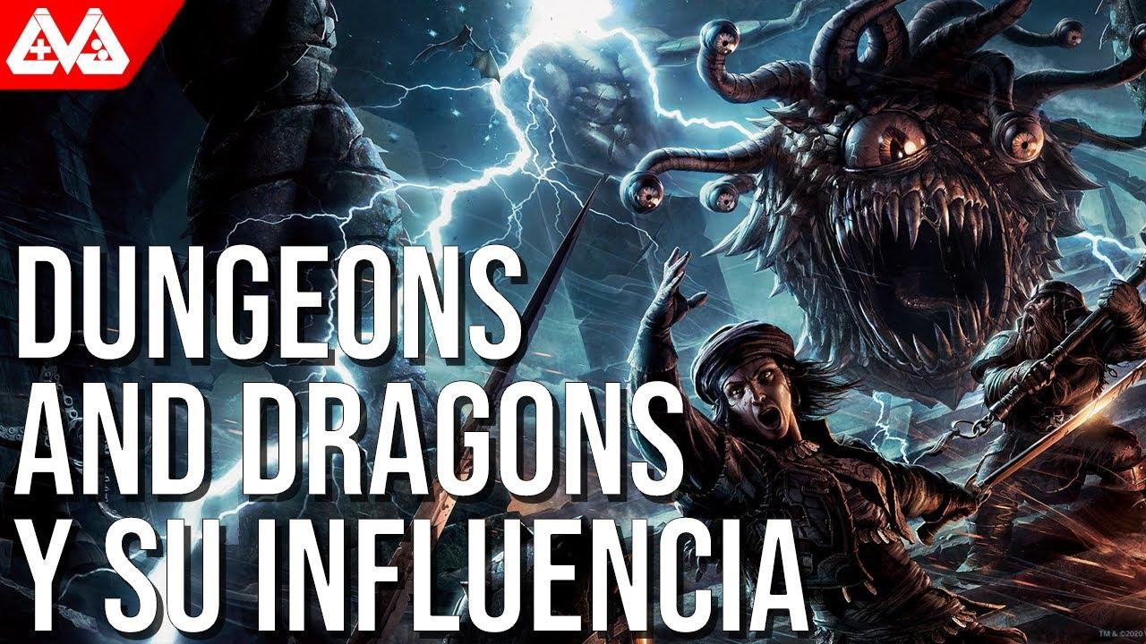 Dungeons and Dragons y su influencia en los videojuegos | Calabozos, dragones y juegos de rol