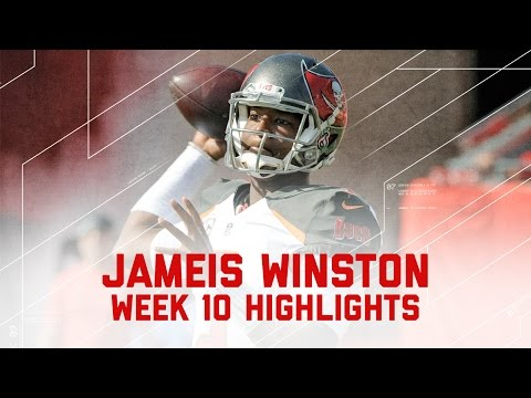 Jameis Winston Goes Off for 312 Yards & 2 TDs | Bears vs. Buccaneers | NFL Week 10 Player Highlights