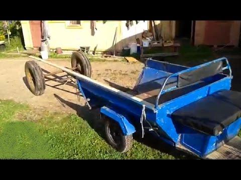 Прицеп для длинномерных грузов