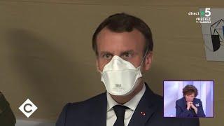 Macron à l'épreuve du coronavirus - C à Vous - 30/03/2020