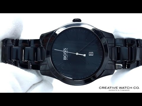 548fc782ed115d Hands On With The Men's Hugo Boss Watch 1513223 - YouTube