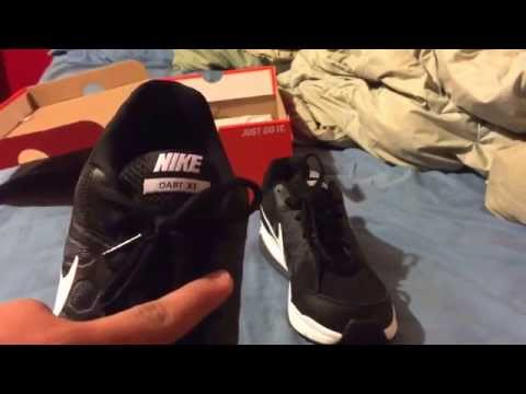 nike-black-and-white-dart-11-unboxing-and-on-feet