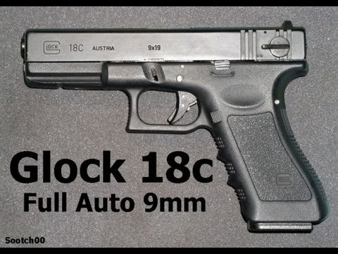 Full Auto Glock Model 18C Pistol - Asurekazani