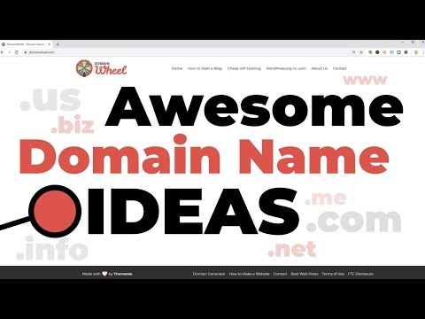 Domain Name Ideas 2019: How To Find The Best Domain Name Available 👌