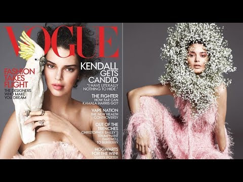 Kendall Jenner Addresses Gay Rumors In Vogue Cover Story