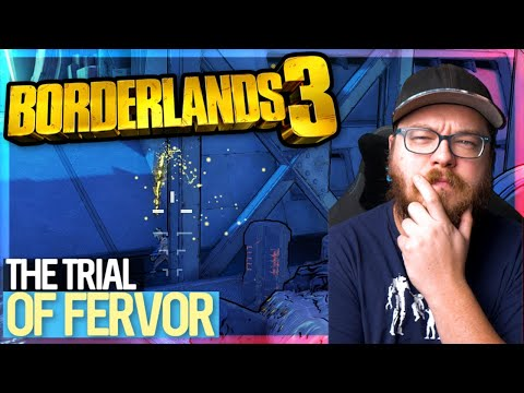 Some Trouble In The Trial of Fervor (Trial 5) | Moze Grenade Build [MM3]  | Borderlands 3 [4K]