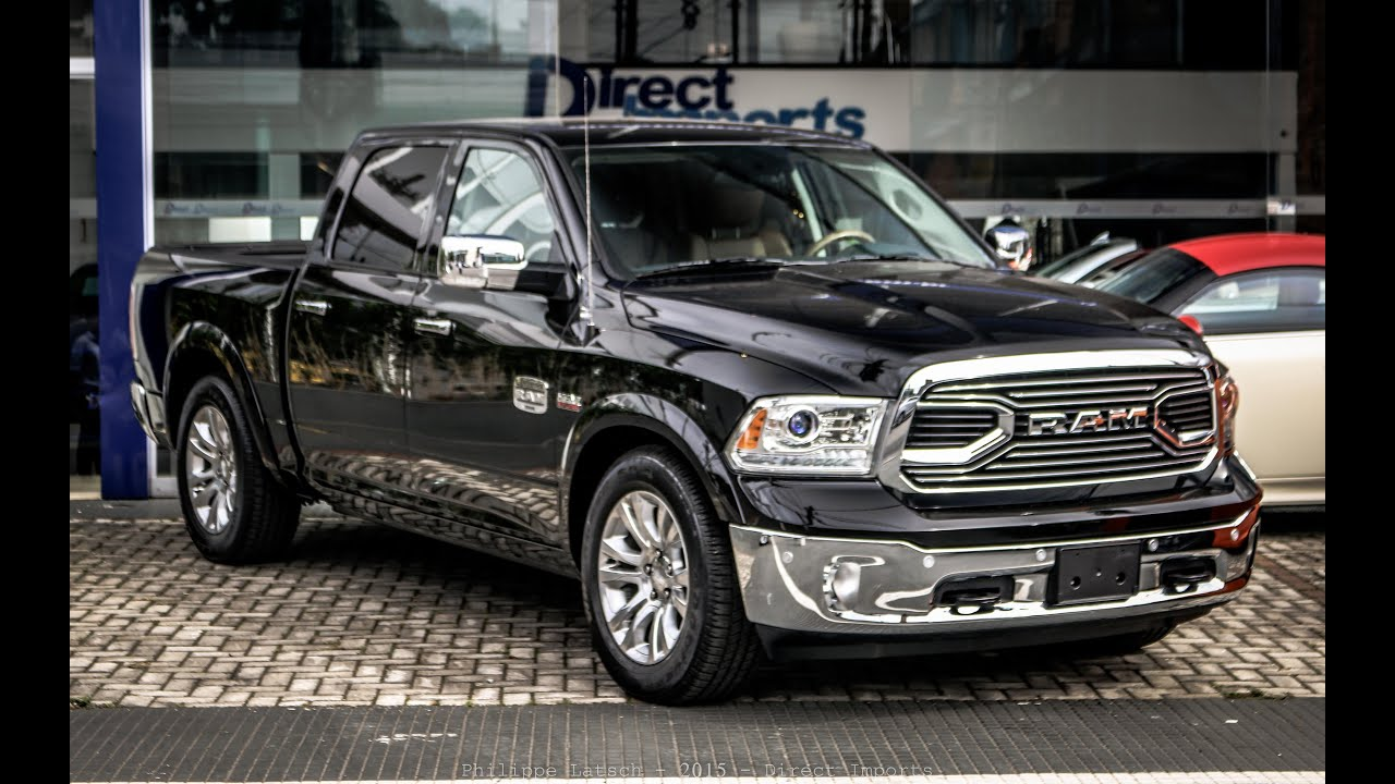 Dodge Ram Laramie Limited 2017 >> Primeira Dodge RAM 1500 2016 do Brasil - YouTube
