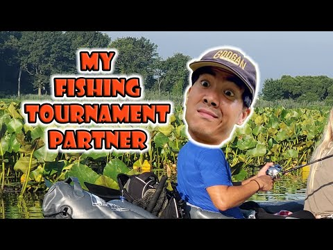 My First 2v2 Fishing Tournament Partner Is 1rod1reelfishing Vs Fishing With Becca & Fishing Grubbz