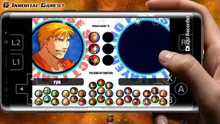 THE KING OF FIGHTERS XI EN ANDROID -RETROARCH APK ATOMISWAVE EMULADOR - DOWNLOAD AND GAME TEST