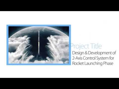 Design & Development of 2 axis Control System for Rocket Launching Phase