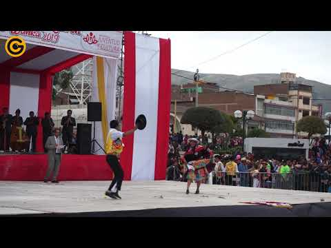 MIRA COMO SE ZAPATEA HUAYLARSH EN PAREJA Huancaino que se respeta