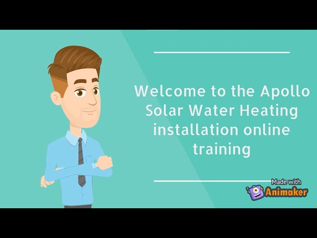 Apollo Solar Water Heating installation online training Part 1: General Introduction