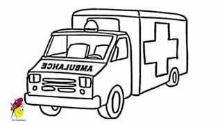 Ambulance - how to Draw an Ambulance