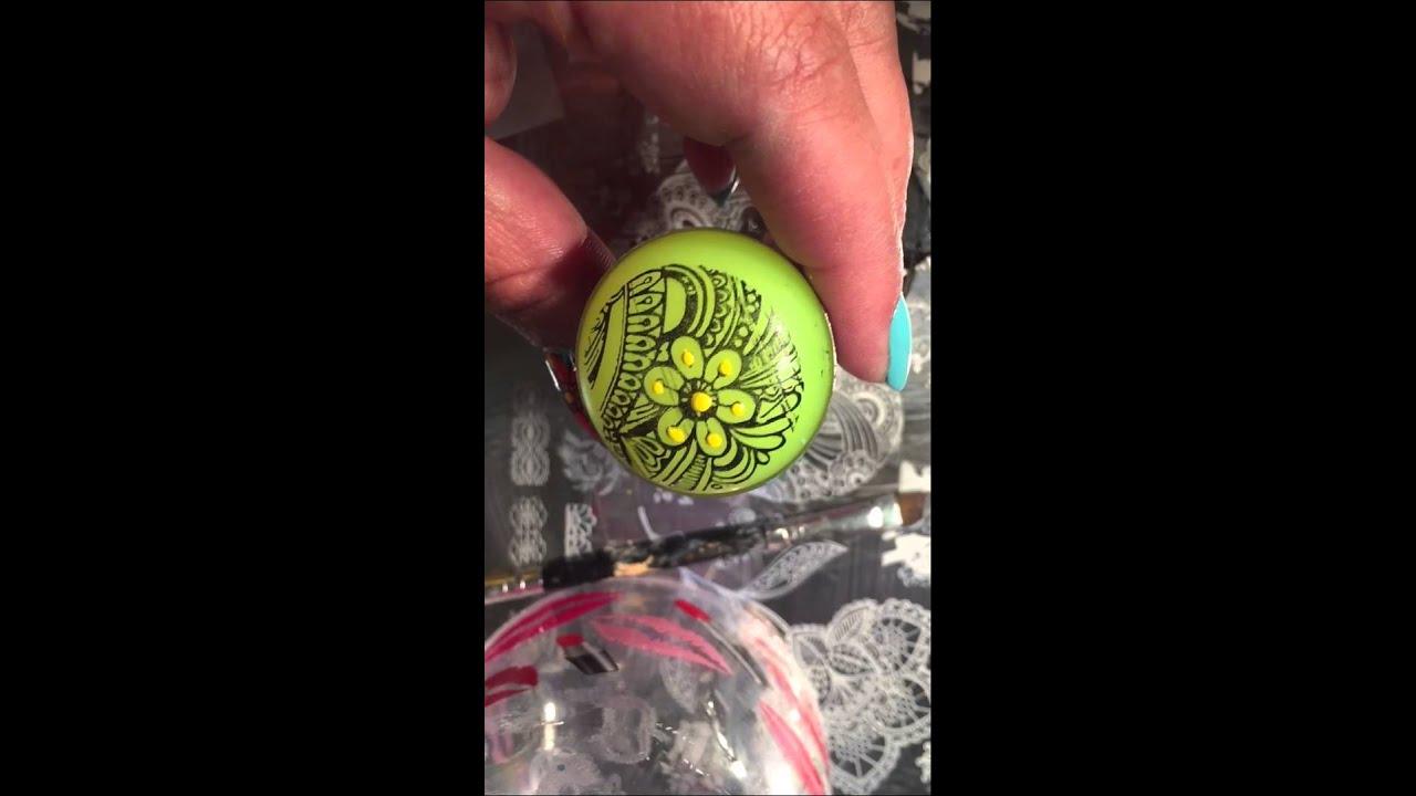 Diseño de uñas con estampado de flor 🌸 - YouTube
