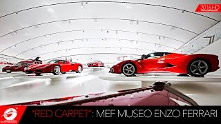"BEST FERRARI EVER: Museo Enzo Ferrari new exhibition ""Red Carpet"""