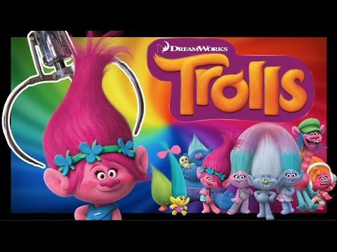 ★Trolls Movie Plush Claw Machine Wins!! Trolls Arcade Crane Game!!! ~ ClawTuber