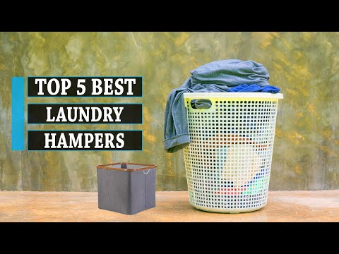 Best Sellers: 5 Best Laundry Hampers in 2021 | Buying Guide