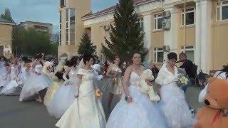 Парад невест в Жирновске!!! 10.05.2014 The parade of brides!