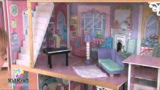 Kidkraft Annabelle Wooden Dolls House 65079 At Http Wooden Toys Direct Co Uk