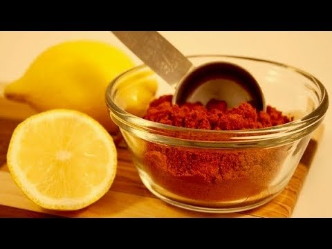Eat Cayenne Pepper Mixed With Lemon Juice For 7 Days, THIS Will Happen To Your Body!