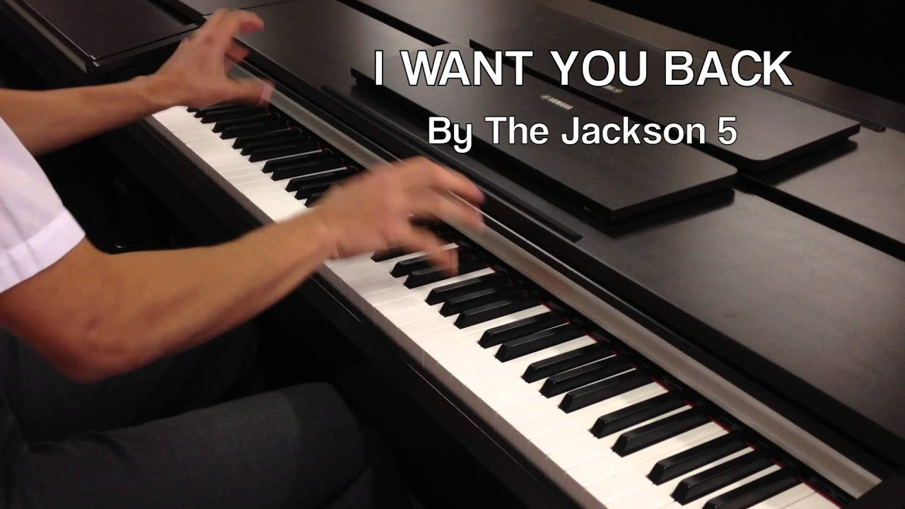 i want you back by the jackson 5 piano hd sheets and
