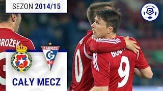 Wisła Kraków - Górnik Zabrze [1. połowa] sezon 2014/15 kolejka 31