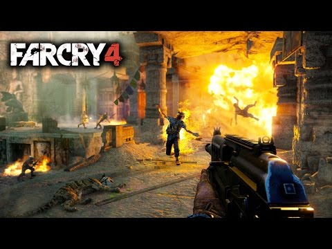 Far Cry 4 New Gameplay Walkthroughs & Game Length, Map Size, New Screenshots! PS4 Xbox One PC