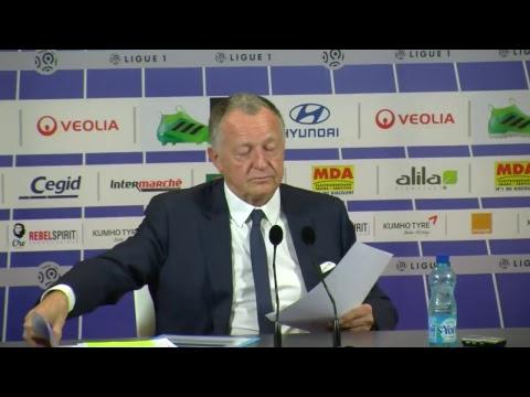 OL : la conférence de presse de Jean-Michel Aulas