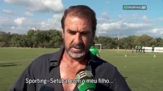 Eric Cantona - Sporting TV