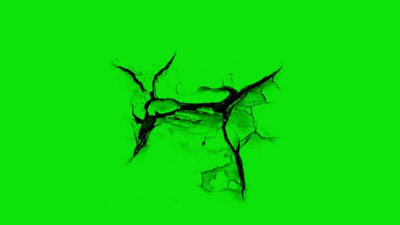 Image Result For Crack Green Screen