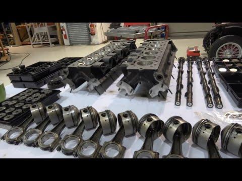 Lamborghini V12 engine rebuild. Part 3, strip-down finished, what next?